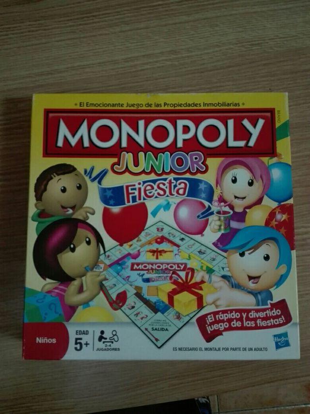 Juego De Mesa Monopoly Junior De Segunda Mano Por 10 En Madrid En
