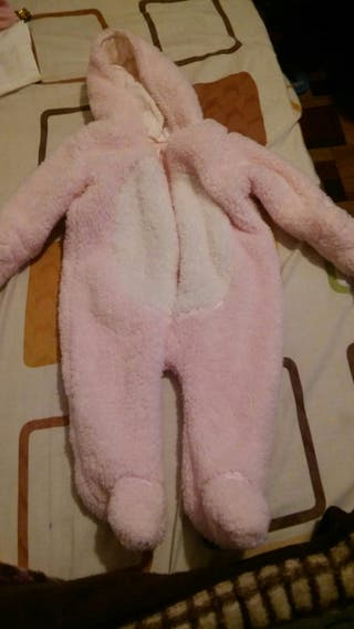 pijama polar nuevo de 3 a 6 meses