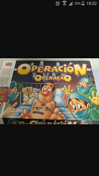 juegos operacion ,hundir los barcos y bingo