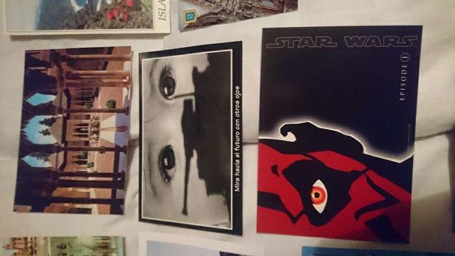 colección de postales de los años 80/90