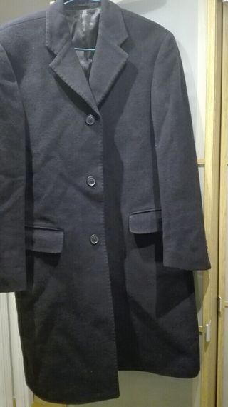 abrigo paño hombre