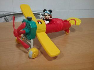 Avión Mickey Mouse