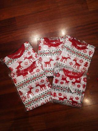 pijamas a estrenar navidad talla 4;5;6