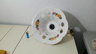 lámpara de techo de porcelana