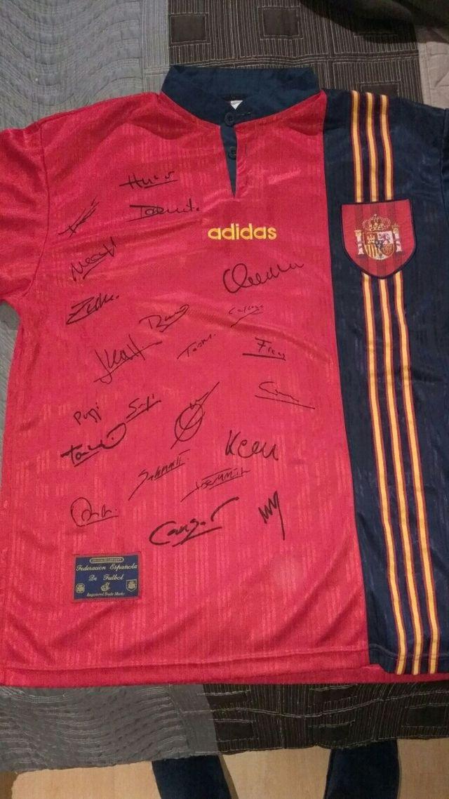 Camiseta Eurocopa Inglaterra 1996 de segunda mano por 80 € en ... 6bd4827c473b2
