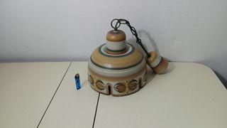 lámpara de techo Portaceli pintada a mano