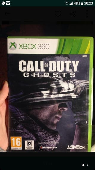 cambio call of duty ghosts xbox 360