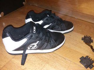 zapatillas con ruedas Heelys TALLA 39.