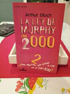 """libro """"la ley de Murphy """""""