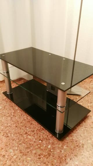 Mesa cristal templado