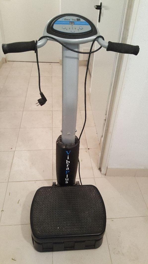 Plataforma vibratoria para circulacion
