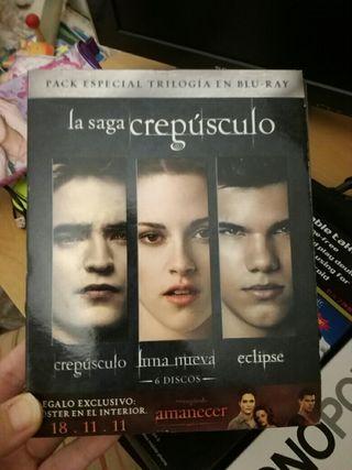 Películas la saga Crepúsculo