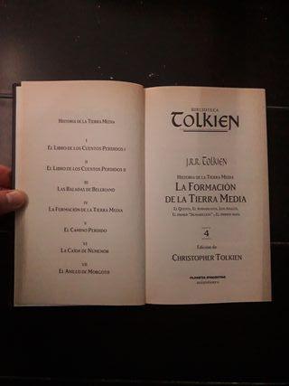 La Formación de la Tierra Media. Tolkien