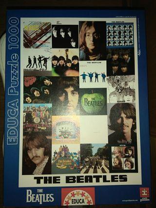 puzzle Beatles con rollo organizador