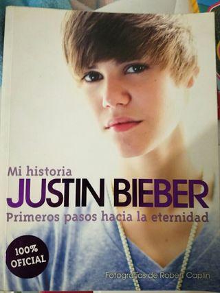 Libro de la historia de Justin Bieber