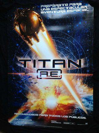 Cartel cine TITAN A.E. Original