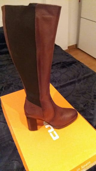 Botas de piel mujer