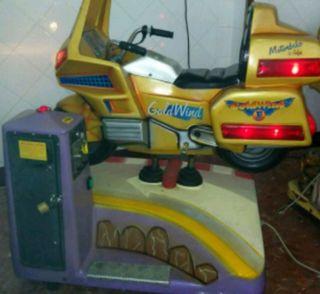 Infantil moto goldwing falgas