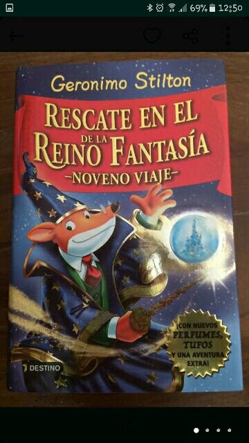 rescate en el reino de la fantasia