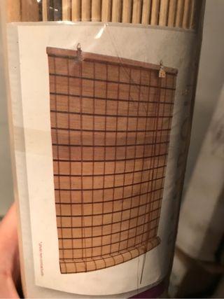 Store enrollable madera