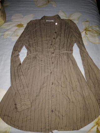 camisa marron chica