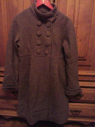 Abrigo marron de Zara