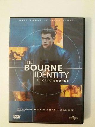 DVD la identidad de Bourne