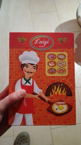 juego luigi pizza