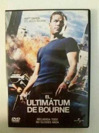 DVD El ultimatum de Bourne