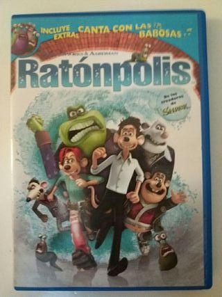 DVD Ratonpolis