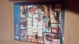 juego GTA 5 para PS4 30€ perfecto estado