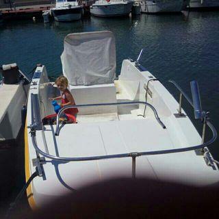 barco catamaran 5 metros 50 cv mercury 4t