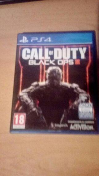 juego PS4 BLACK OPS3 perfecto estado seminuevo 25€