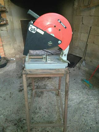 Tronzadora de disco abrasivo