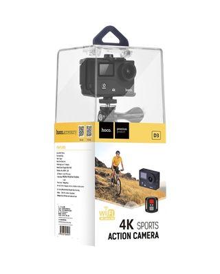 cámara sport 4k pro d3 hoco fecbook tenor móvile