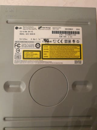 Grabadora cd
