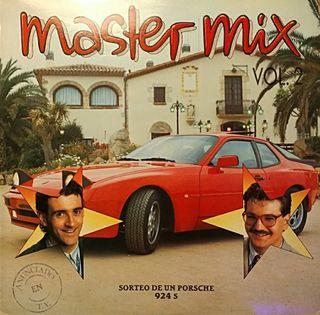 Vinilo LP - MASTER MIX 2 (1987)