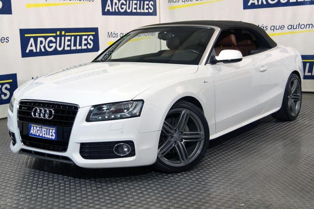 Audi A5 Cabrio 3.0TDI quattro S-Tronic FULL EQUIPE S-Line