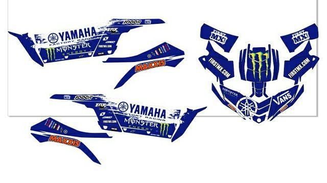 Kit pegatinas YAMAHA YXZ 1000