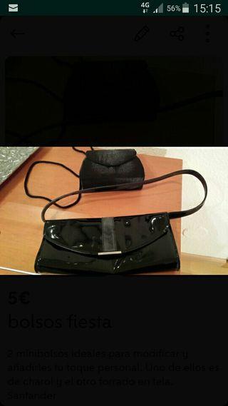 Dos bolsos de fiesta por 6 €