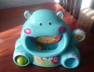 Hipopótamo glotón.