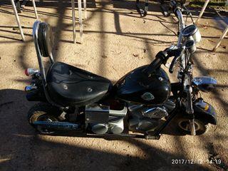 moto tipo custom infantil
