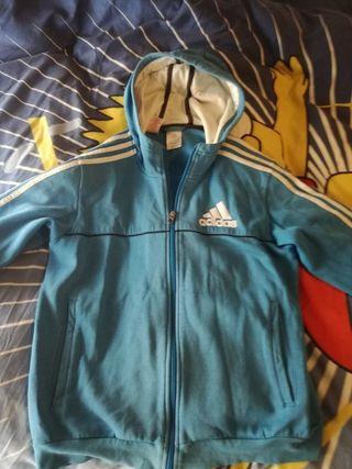 chaqueta adidas azul