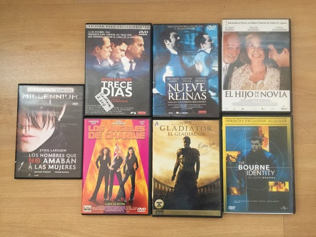 DVDs Lote