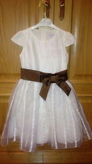 Vestido ceremonia niña 6años
