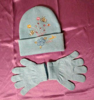 Gorro y guantes