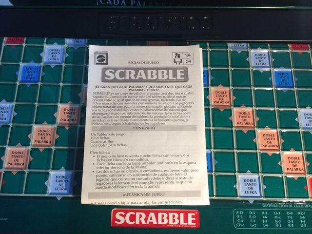 Juego Mesa Scrabble Prestige De Segunda Mano Por 20 En L