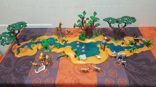 vendo rio de Playmobil en perfecto estado.