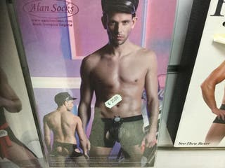 Disfraz sexy policia hombre