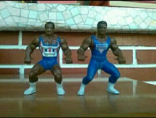 muñecos american gladiator